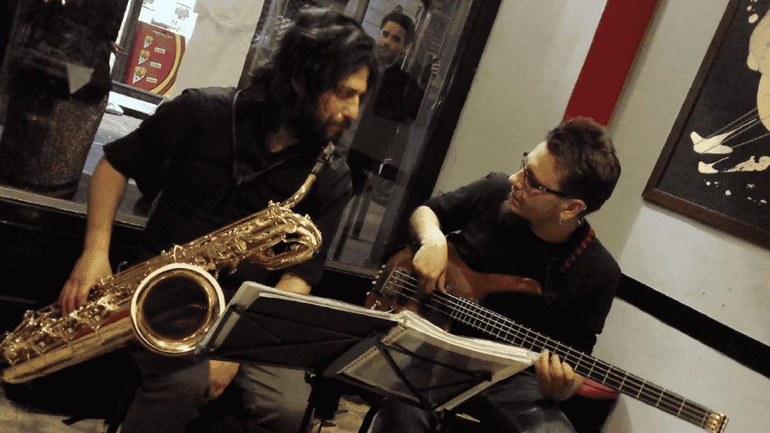 Z.T.L. - Luca Tartaglia & Luca Zennaro Jazz Duo - Live